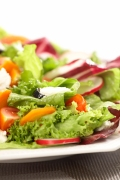 Think you're being healthy when you get a salad while eating out? Salads are actually often the least healthy item on the menu!