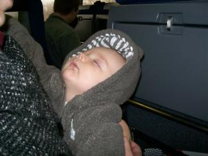 Hopefully, these tips will help you sleep like a baby... though hopefully, in a more comfortable position than THIS one.