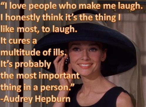 Audrey - laugh
