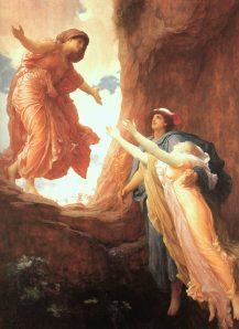 Please return soon, Persephone. It would be nice to wear flip flops.