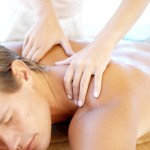 Massage helps to ease the tension in this area.